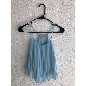 ⚡️$10 SALE- Charlotte Russe Light Blue Cute Top⚡️